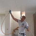 Latex spuiten plafond te Rijen